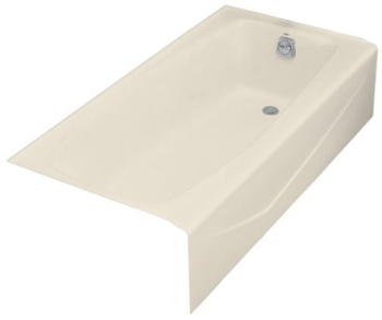 Kohler K-716-47 Villager Bath With Right-Hand Drain - Almond