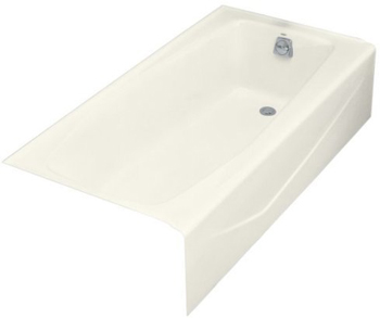 Kohler K-716-96 Villager Bath With Right-Hand Drain - Biscuit
