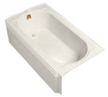 Kohler K-721-96 Memoirs 5' Bath With Left-Hand Drain - Biscuit