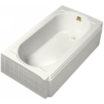 Kohler K-722-0 Memoirs 5' Bath With Right-Hand Drain - White