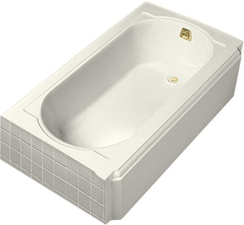 Kohler K-722-96 Memoirs 5' Bath With Right-Hand Drain - Biscuit