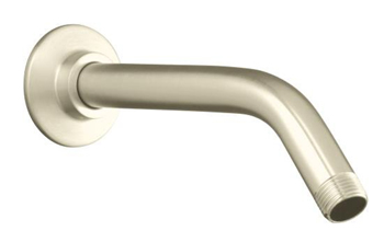 Kohler K-7397-SN Showerarm and Flange - Polished Nickel (Pictured in Brushed Nickel)