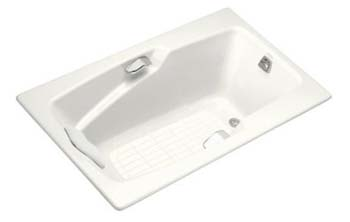 Kohler K-790-0 Steeping 5' Bath - White