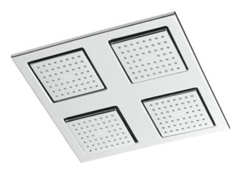 Kohler K-8030-CP Modern MasterClean Water Tile Rain Overhead Showering Panel - Polished Chrome