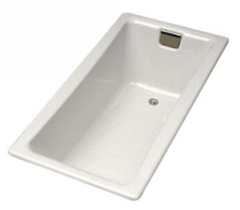 Kohler K-850-0 Tea-For-Two 5' Bath - White