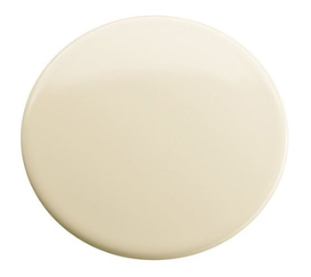 Kohler K-8830-PB Kitchen/Lavatory Sink Hole Cover - Polished Brass (Pictured in Almond)