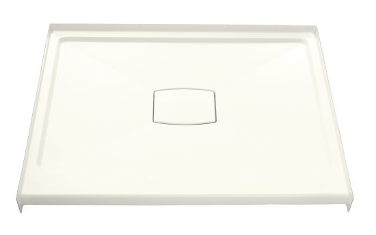 Kohler K-9397-96 Archer 48x36 Shower Recpetor With Removable Drain Cover - Biscuit