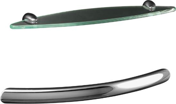 Kohler K-9459-G Sonata Grip Bar - Brushed Chrome (Pictured in Polished Chrome)