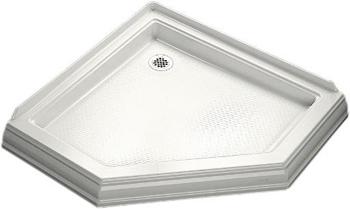 Kohler K-9542-0 Memoirs Neo-Angle Shower Receptor - White