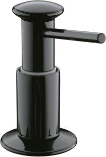 Dish Soap Dispenser Installed Kitchen Sink