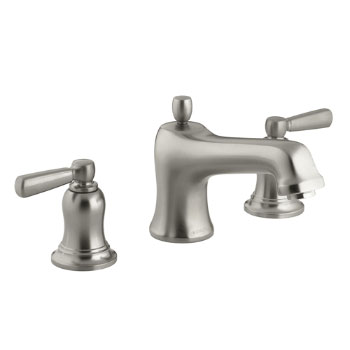 Kohler K-T10585-4-BN Bancroft Deck-Mount High-Flow Bath Faucet Trim - Brushed Nickel