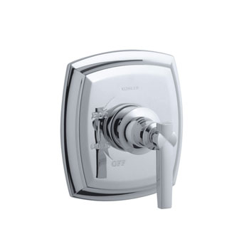 Kohler K-T16235-4-CP Margaux Rite-Temp Valve Trim With Lever Handle - Polished Chrome