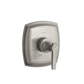 Kohler K-T16235-4-BN Margaux Rite-Temp Valve Trim With Lever Handle - Vibrant Brushed Nickel