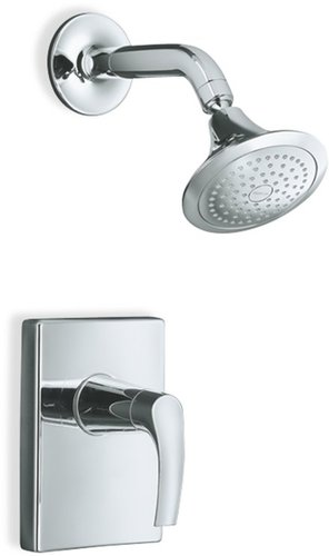 Kohler K-T18489-4-CP Symbol Rite-Temp Shower Faucet Trim - Chrome