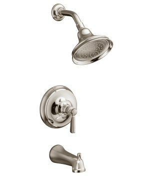 Kohler K-T10582-4-BN Bancroft One Handle Tub & Shower Faucet Trim Kit - Brushed Nickel