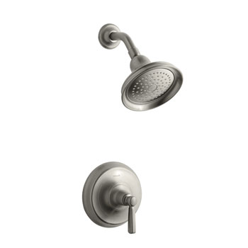 Kohler K-T10583-4-BN Bancroft One Handle Shower Only Faucet Trim Kit - Brushed Nickel
