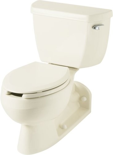 Kohler K-3554-RA-0 Barrington Two Piece Elongated Toilet - White