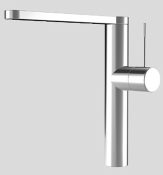 KWC 10.151.413.000 Ono Single Lever Kitchen Faucet - Polished Chrome
