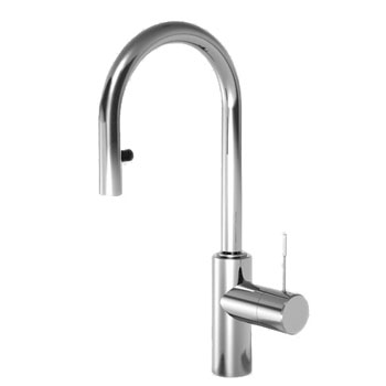 KWC 10.151.991.000 Ono Single Lever Bar Faucet - Polished Chrome