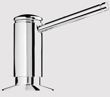 KWC Z.504.938.700 Primo Soap/Lotion Dispenser - Stainless Steel (Pictured in Chrome)