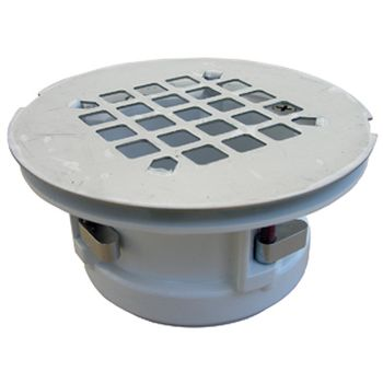 Lasco 03 1224 Wingtite Replacement Shower Drain Chrome