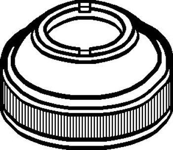 Lasco V 6633 Valley Bonnet Nut Assembly Chrome