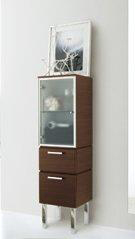 La Toscana 725079 Asia Low Linen Tower - Wenge