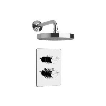 La Toscana 73CR690 Morgana Thermostatic Shower Valve and Trim - Polished Chrome