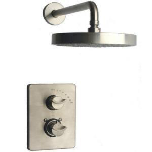 La Toscana 73PW690 Morgana Thermostatic Shower Only - Brushed Nickel