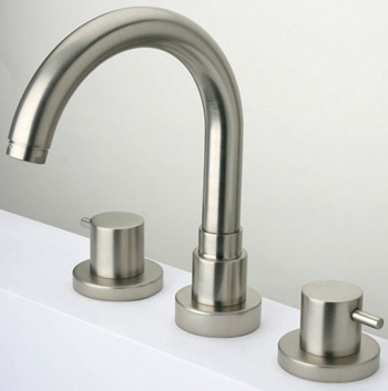 La Toscana 78PW102 Elba Two Handle Roman Tub Faucet - Brushed Nickel