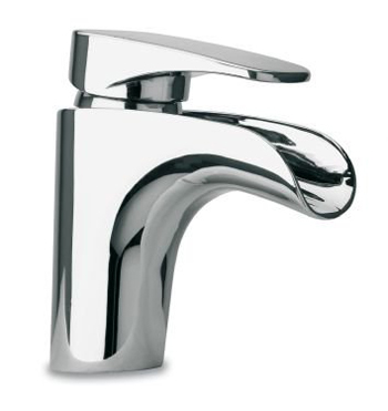 La Toscana 86CR211WF Novello Single Handle/Hole Waterfall Lavatory Faucet - Chrome