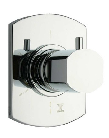 La Toscana 86CR425CP Novello Single Handle 3-Way Diverter Valve - Chrome