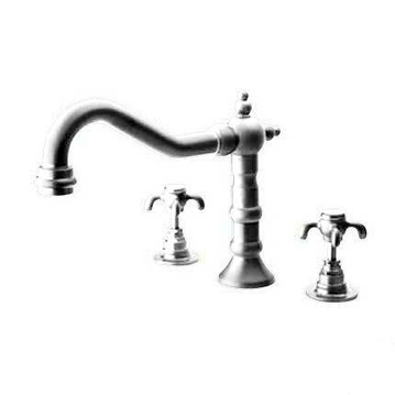 La Toscana 87CR102 Ornellaia Roman Tub Faucet - Chrome
