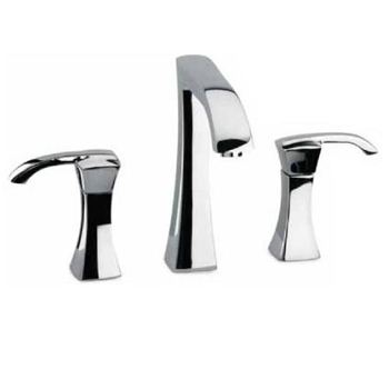 La Toscana 89CR214 Lady Widespread Lavatory Faucet - Chrome