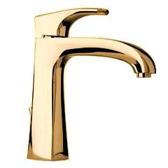 La Toscana 89OK211 Lady Single Handle/Hole Lavatory Faucet - Satin Gold
