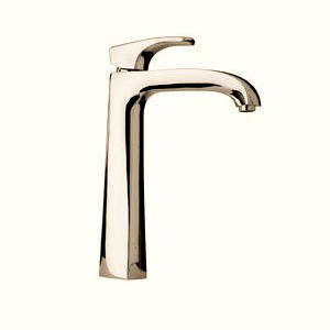 La Toscana 89PW205LL2 Lady Tall Single Handle/Hole Lavatory Vessel Faucet - Brushed Nickel