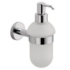La Toscana AL01DPW Atlantic Soap Dispenser - Satin Nickel (Pictured in Chrome)