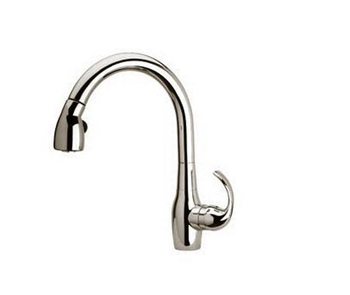 La Toscana CAPW591 Petrarca Single Handle Pull-Out Kitchen Faucet - Brush Nickel
