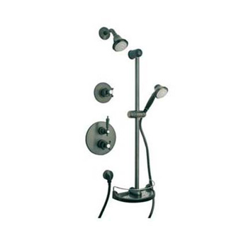 La Toscana SHOWER3ON Ornellaia Shower System - Oil Rubbed Bronze