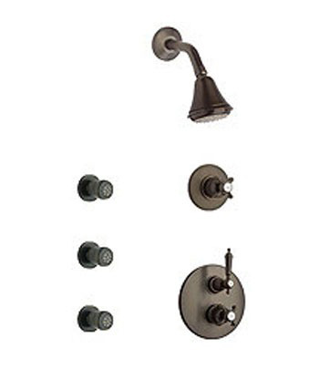 La Toscana SHOWER4ON Ornellaia Shower System - Oil Rubbed Bronze