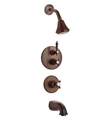 La Toscana SHOWER5ON Ornellaia Shower System - Oil Rubbed Bronze