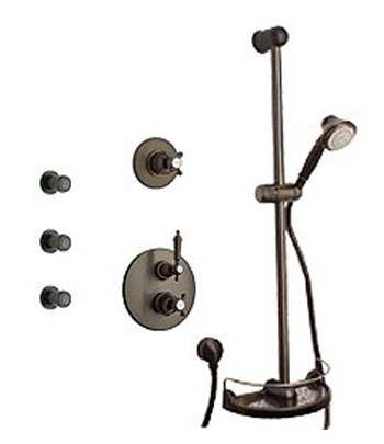 La Toscana SHOWER6ON Ornellaia Shower System - Oil Rubbed Bronze