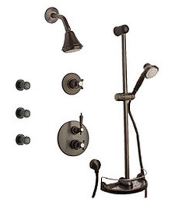 La Toscana SHOWER7ON Ornellaia Shower System - Oil Rubbed Bronze