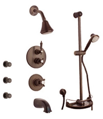 La Toscana SHOWER8ON Ornellaia Shower System - Oil Rubbed Bronze