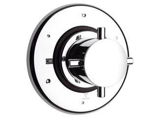 La Toscana USCR425 Three Port Shower Diverter Valve and Trim - Chrome