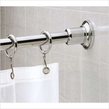 Gatco 819 Marina Shower Rod Set Chrome