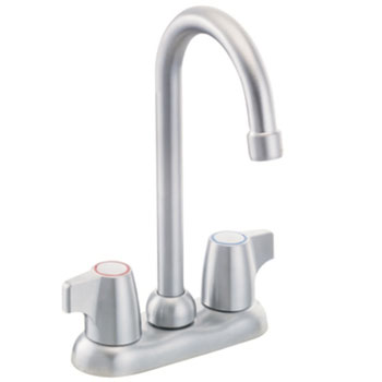 Moen 4903BC Chateau Two-Handle Bar Faucet Brushed Chrome