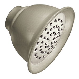 Moen 6302BN Moenflo(R) XL Single Function Showerhead Brushed Nickel