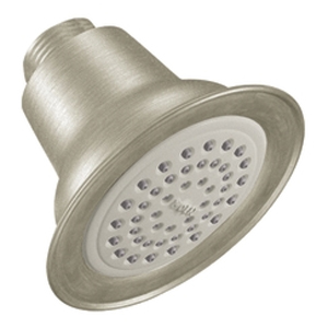 Moen 6303BN Easy Clean(R) XLT Single Function Showerhead Brushed Nickel