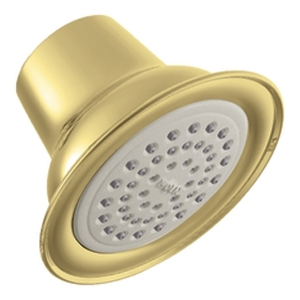 Moen 6303P Easy Clean(R) XLT Single Function Showerhead Polished Brass